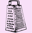 kitchen grater vector image