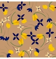 Light floral background in Colorful spring vector image vector image