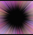 pink psychedelic abstract sun burst background vector image vector image
