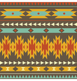 seamless colorful decorative ethnic pattern vector image vector image