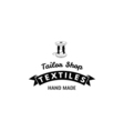 Thread spool and needle Tailor shop and needlework vector image