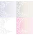 white vintage background vector image
