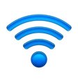 Wireless Network Symbol wifi icon vector image vector image