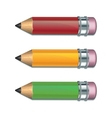 Set of Coloured pencils vector image
