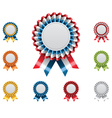 award badges set vector image vector image