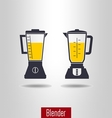 Blender icon set vector image