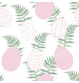easter seamless pattern for wrapping paper vector image vector image