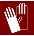 Gloves sign vector image vector image