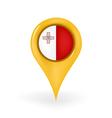 Location Malta vector image