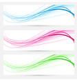 Modern web headers banners collection vector image vector image