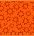 orange seamless looped pattern vector image vector image