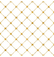 Rhombus seamless pattern white 2 vector image vector image