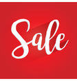 Sale Lettering Design vector image vector image