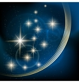 Stellar background vector image vector image
