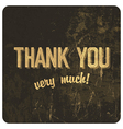 Thank you words vector | Price: 1 Credit (USD $1)