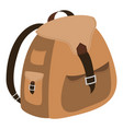backpack-2-2 vector image vector image
