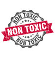 non toxic stamp sign seal vector image vector image