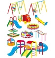 playground set vector image