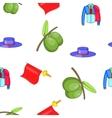 Spain pattern cartoon style vector image