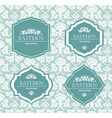 vintage collection Baroque and antique frames vector image vector image