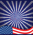 4th july happy independence day america vector image vector image