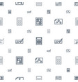 accounting icons pattern seamless white background vector image vector image