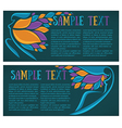 beauty banners vector image