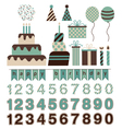 Birthday Pack vector image vector image