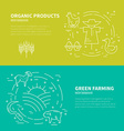 Farming Concept vector image vector image