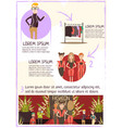 fashion event review infographics vector image vector image