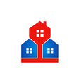 house architecture business realty logo vector image vector image