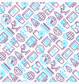 web development seamless pattern vector image vector image