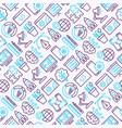 web development seamless pattern vector image