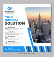 business marketing banner template vector image vector image