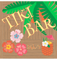 Hawaii Bar Poster vector image vector image