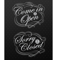 Image of various open and closed business vector image vector image