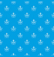 jewelry luxury pattern seamless blue vector image vector image