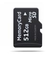 Micro SD memory card vector image vector image