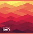 modern futuristic abstract geometric cover vector image vector image