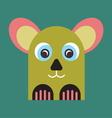 Strange animal Mascot vector image vector image