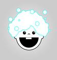 Baby bath icon vector image