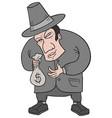 bank man vector image