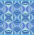 blue psychedelic abstract seamless striped spiral vector image vector image