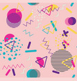 Colorful vintage geometric patterns
