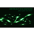 dark green abstract background bokeh vector image