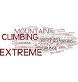 Extreme word cloud concept