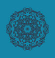 flat icon hand-made stylization of ornamental vector image