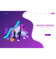 isometric business-to-business sales businessmen vector image vector image