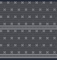 knitted gray seamless pattern background vector image vector image
