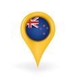 Location New Zealand vector image